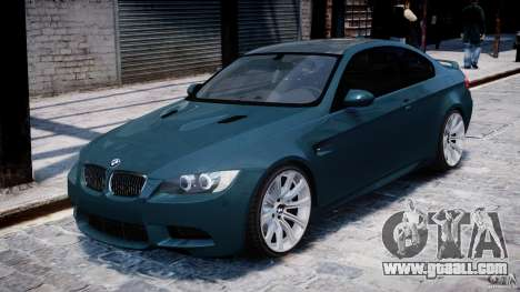 BMW M3 E92 stock for GTA 4 left view
