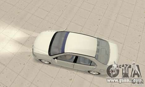 Honda Accord Comfort 2003 for GTA San Andreas back left view