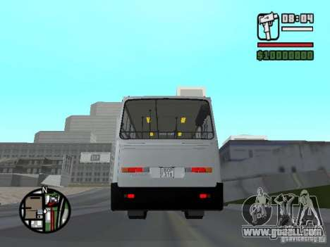Ikarus 260.06 for GTA San Andreas back left view