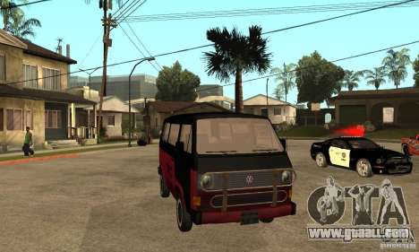 Volkswagen T3 Rusty for GTA San Andreas