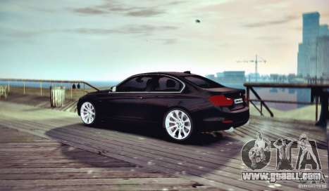 BMW 335i Coupe for GTA 4 right view