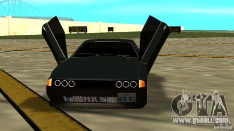 Elegy MIX V.1 for GTA San Andreas right view