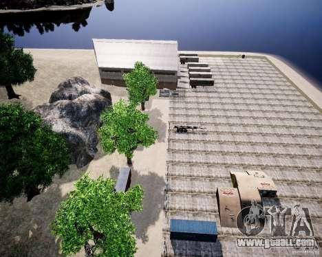 LC Crash Test Center for GTA 4 seventh screenshot