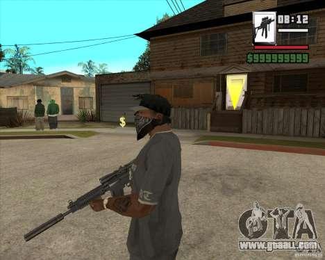 Sig550-m4 for GTA San Andreas second screenshot