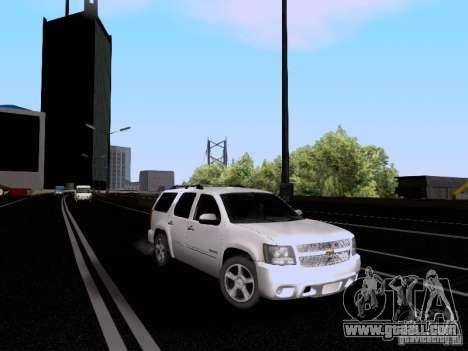 Chevrolet Tahoe LTZ 2013 for GTA San Andreas