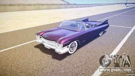 Cadillac Eldorado 1959 interior black for GTA 4 left view