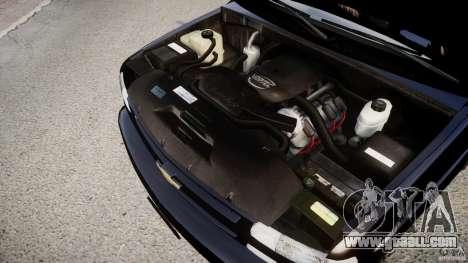 Chevrolet Suburban Z-71 2003 for GTA 4 inner view