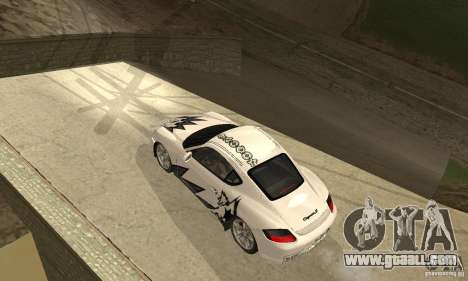 Porsche Cayman S for GTA San Andreas engine