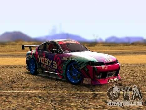 Nissan Silvia S15 EXEDY RACING TEAM for GTA San Andreas left view
