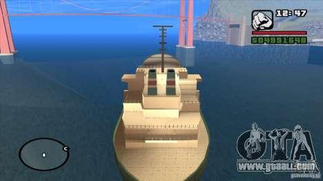 Ships for GTA San Andreas