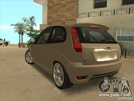 Ford Fiesta ST for GTA San Andreas left view