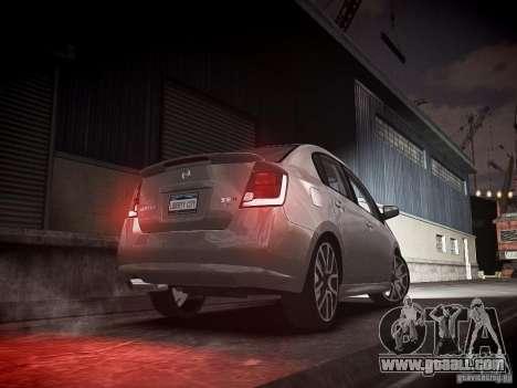 Nissan Sentra SE-R Spec V for GTA 4 back left view