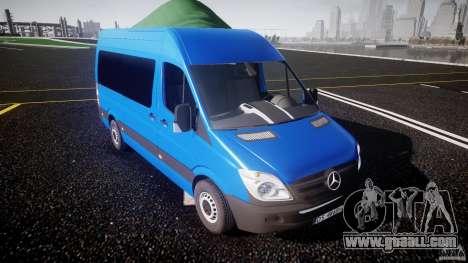Mercedes-Benz ASM Sprinter Ambulance for GTA 4 inner view