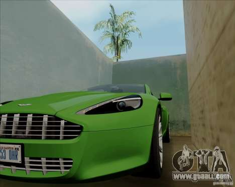 Aston Martin Rapide 2010 V1.0 for GTA San Andreas bottom view
