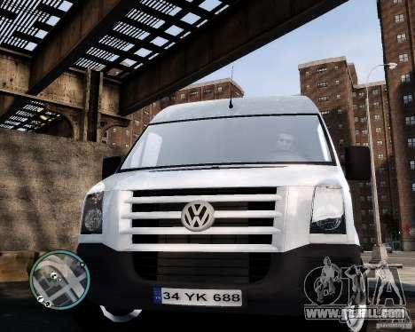 Volkswagen Crafter Turkish Schoolbus for GTA 4