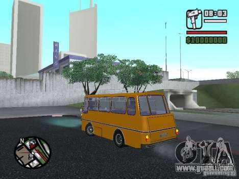 TV 7 for GTA San Andreas left view