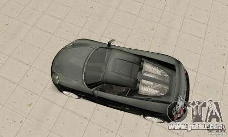 Porsche Carrera GT stock for GTA San Andreas right view