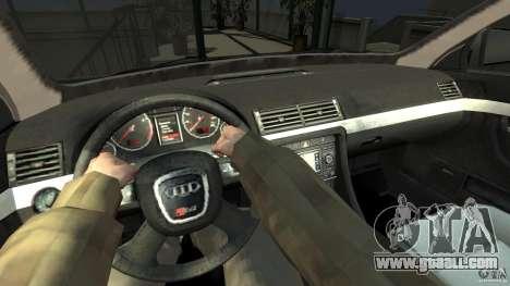 Audi S4 Quattro for GTA 4 right view