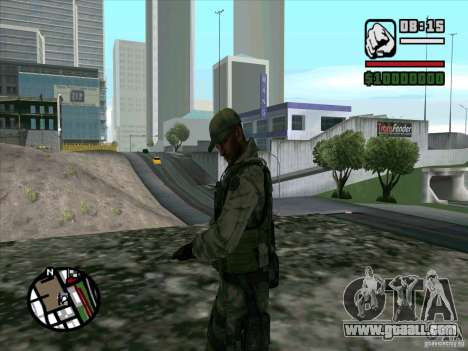 Dave from Resident Evil for GTA San Andreas second screenshot