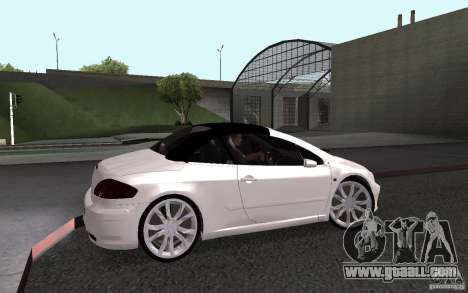 Peugeot 307CC BMS for GTA San Andreas back left view