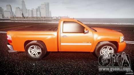 Chevrolet Silverado 2011 for GTA 4 side view