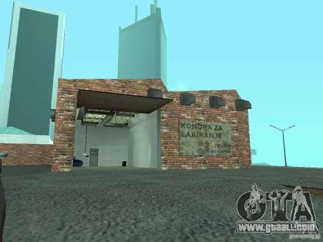 IMW Old Zastava Car Showroom for GTA San Andreas fifth screenshot