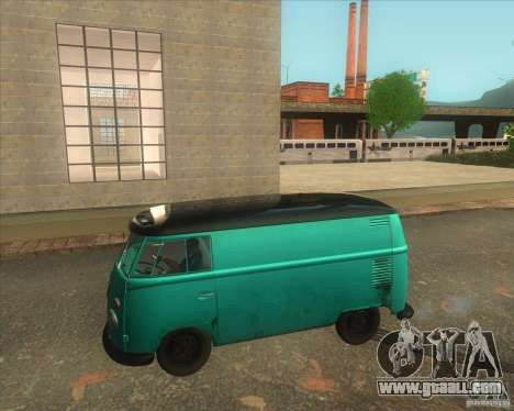 Volkswagen Transporter T1 Van 1958 for GTA San Andreas