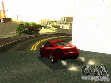 Audi TT 2009 v2.0 for GTA San Andreas right view
