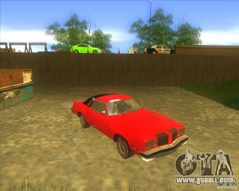 Oldsmobile Cutlass Supreme 1976 for GTA San Andreas