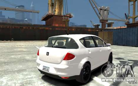 Seat Toledo for GTA 4 right view