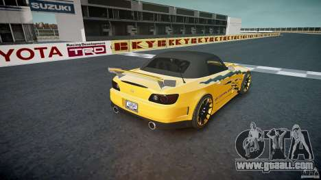Honda S2000 Tuning 2002 3 Skin calm for GTA 4 bottom view