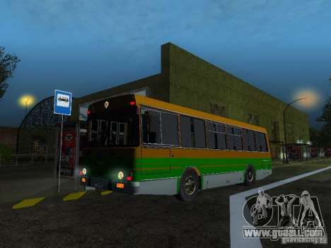 LAZ-4202 for GTA San Andreas left view