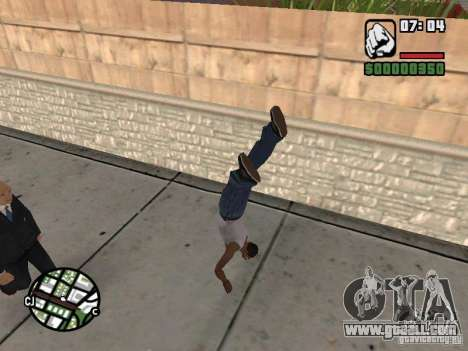 PARKoUR for GTA San Andreas eighth screenshot