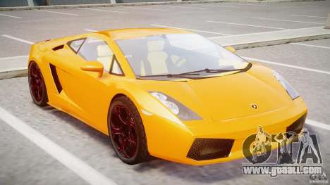Lamborghini Gallardo Superleggera for GTA 4 left view