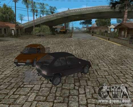 ZAZ 1102 Tavria for GTA San Andreas back view