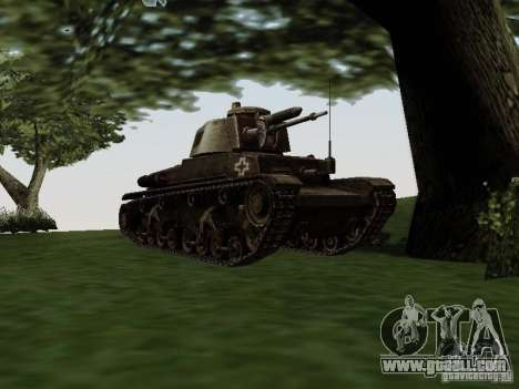 Pzkpfw-35t for GTA San Andreas