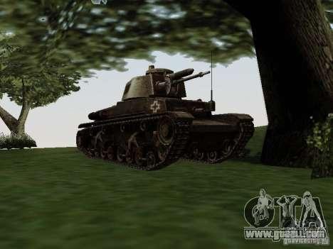 Pzkpfw-35t for GTA San Andreas