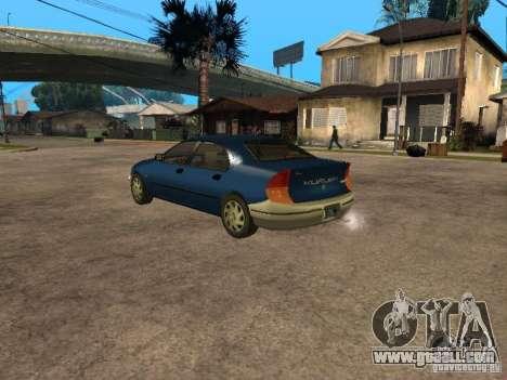 HD Kuruma for GTA San Andreas left view