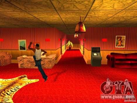 Brothel Cj v1.0 for GTA San Andreas third screenshot