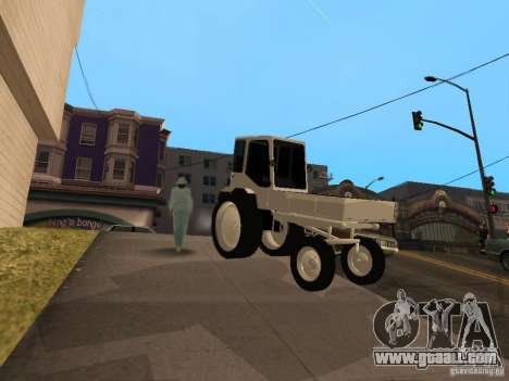 Tractor T16M for GTA San Andreas left view
