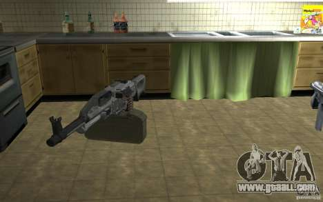 PKP Pecheneg Machine Gun for GTA San Andreas third screenshot