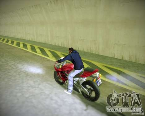 Honda CBR600RR 2005 for GTA San Andreas left view