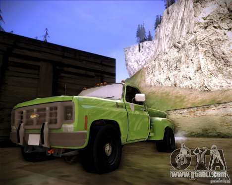GMC 80 for GTA San Andreas left view