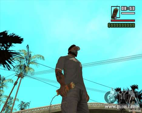 Call of Juarez Bound in Blood Weapon Pack for GTA San Andreas fifth screenshot
