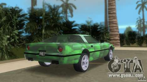Reptilien banshee for GTA Vice City back left view
