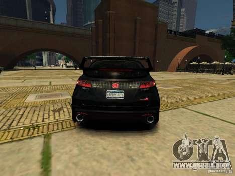 Honda Civic Type R Mugen for GTA 4 back left view