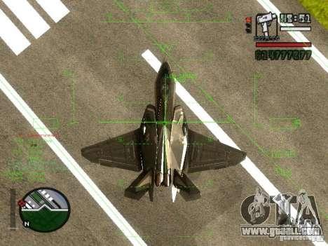 Xa-20 razorback for GTA San Andreas