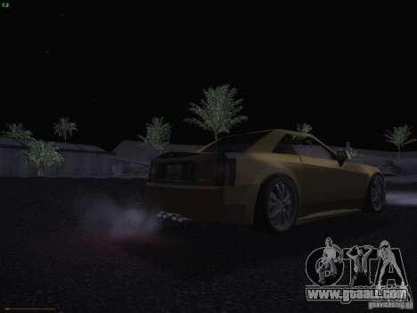 Cadillac XLR 2006 for GTA San Andreas bottom view