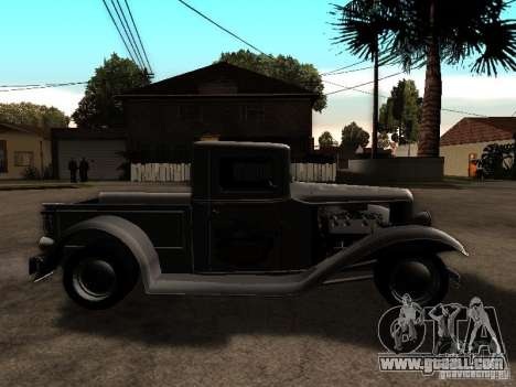 Ford Farmtruck for GTA San Andreas right view