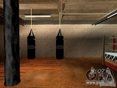 New boxing punching bag for GTA San Andreas forth screenshot
